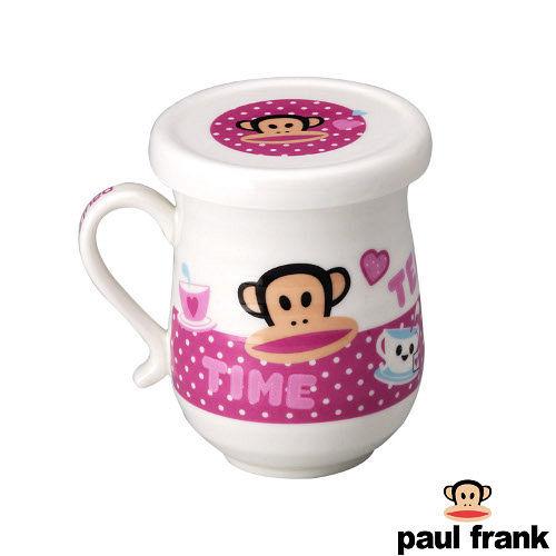 【Paul Frank】環紋蓋杯-粉(PF80PL-2)