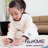 棉花田【NuKME】兒童時尚多功能創意袖毯-象牙白