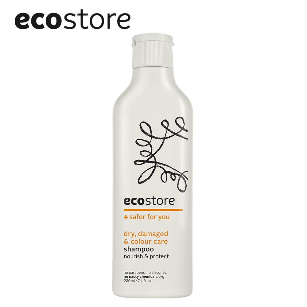 【ecostore】純淨洗髮精/乾燥受損染燙 220ml
