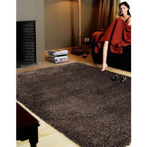 【范登伯格】嘉年華☆居家美學長毛地毯-深咖啡色(140x200cm)