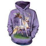 『摩達客』(現貨)美國進口【The Mountain】獨角獸城堡 長袖連帽T恤