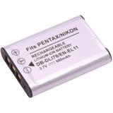 Kamera 鋰電池 for Pentax D-LI78 (DB-DLI78/EN-EL11)