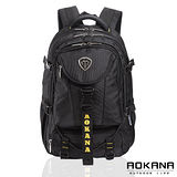 AOKANA奧卡納 台灣釦具 防潑水護脊紓壓電腦後背包(黃標)68-067