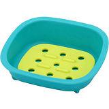 《Sceltevie》濾水肥皂盒(藍綠)