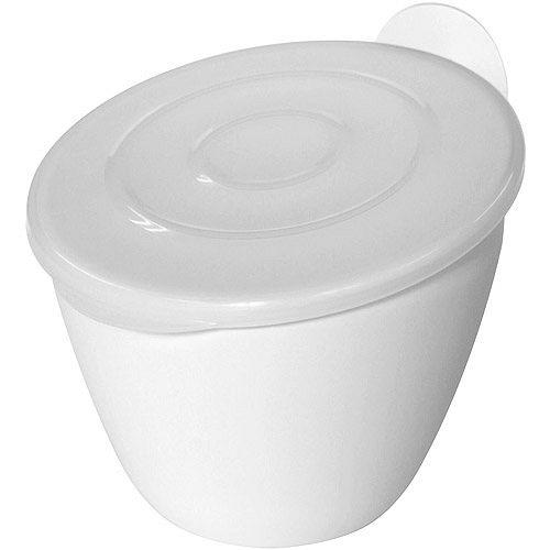 《Sceltevie》吸盤廚餘桶(白)