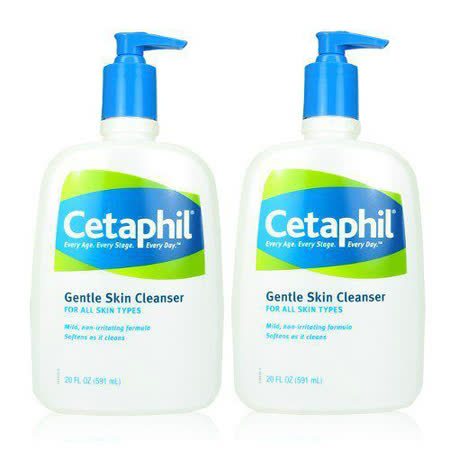 Cetaphil 舒特膚  溫和清潔乳591ml*2入