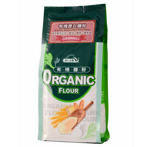 [統一生機]有機原白麵粉(500g)