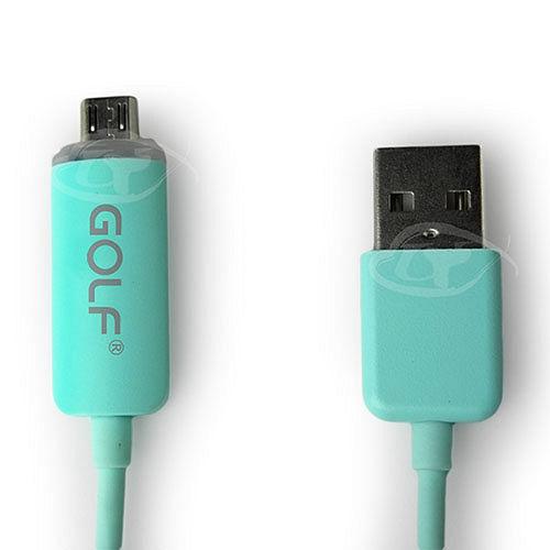 GOLF 水果糖-高速傳輸Micro USB發光LED充電線100cm