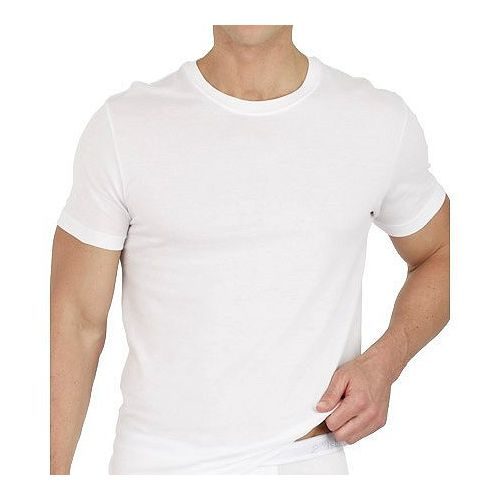 2XIST 2014時尚圓領短袖白色內衣3件組【預購】