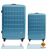 Gate9 俄羅斯方塊系列輕硬殼24+20吋行李箱二件組