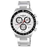 TISSOT PRS516 極速復刻石英腕錶-銀白 T0444172103100