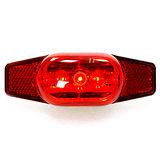 【D-LIGHT】貨架專用可旋轉固定座自行車後燈 2128-11(紅色)
