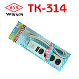 威電牌 鐵殼 1*4P 電腦延長線 TK-314 (6尺)