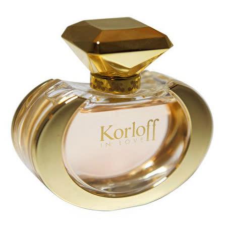 Korloff 墮入愛河 女性 (IN LOVE) 淡香精 100ml(加贈品牌小香隨機款*1) -friDay購物