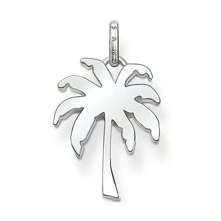 【Thomas Sabo】Glam & Soul palm 熱帶國度棕櫚銀墜(PE651-001-12)