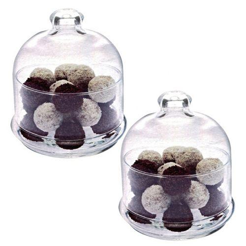 土耳其Pasabahce精緻玻璃巧克力盅-二入組