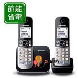 Panasonic DECT國際牌數位無線電話機 KX-TG6812 / KX TG6812 (鈦金黑)