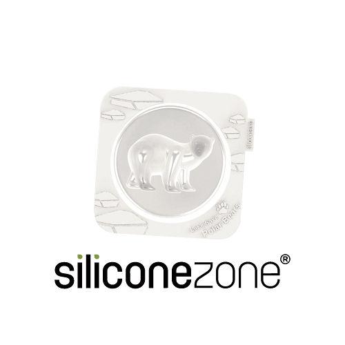 【Siliconezone】施理康耐熱北極熊造型小蛋糕模
