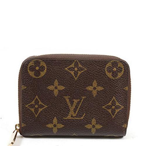 Louis Vuitton M60067 經典格紋信用卡拉鍊零錢包_預購