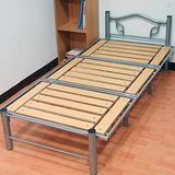 KOTAS-收納折疊 高質感鋼管床架(單人)