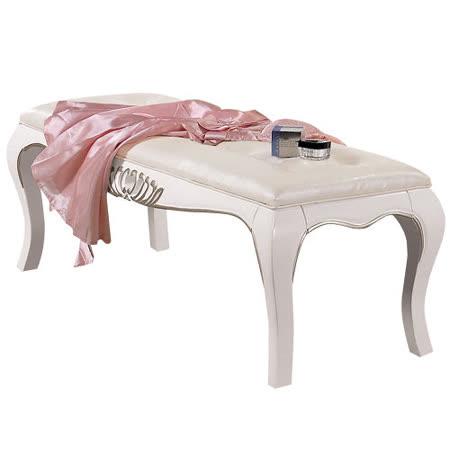 夏洛蒂4.3尺法式床尾凳