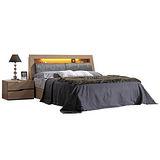 HAPPYHOME 威爾斯6尺床箱型加大雙人床097-1(只含床頭-床底-不含床墊、床頭櫃)
