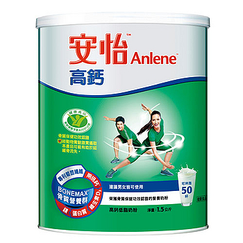 安怡高鈣奶粉1.5kg