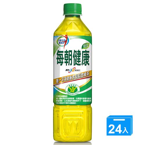 御茶園每朝健康綠茶 650MLx24 瓶