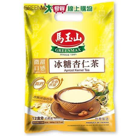 馬玉山冰糖杏仁茶30g X12入