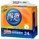 得意優質抽取式衛生紙100抽*24包