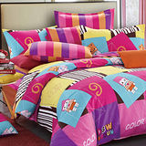 《純真年代》加大四件式舖棉兩用被床包組
