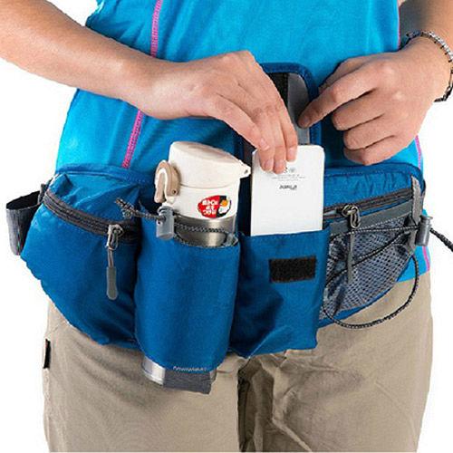 PUSH!旅遊戶外休閒用品輕便包腰包旅行隨身包自行車腰包登山包