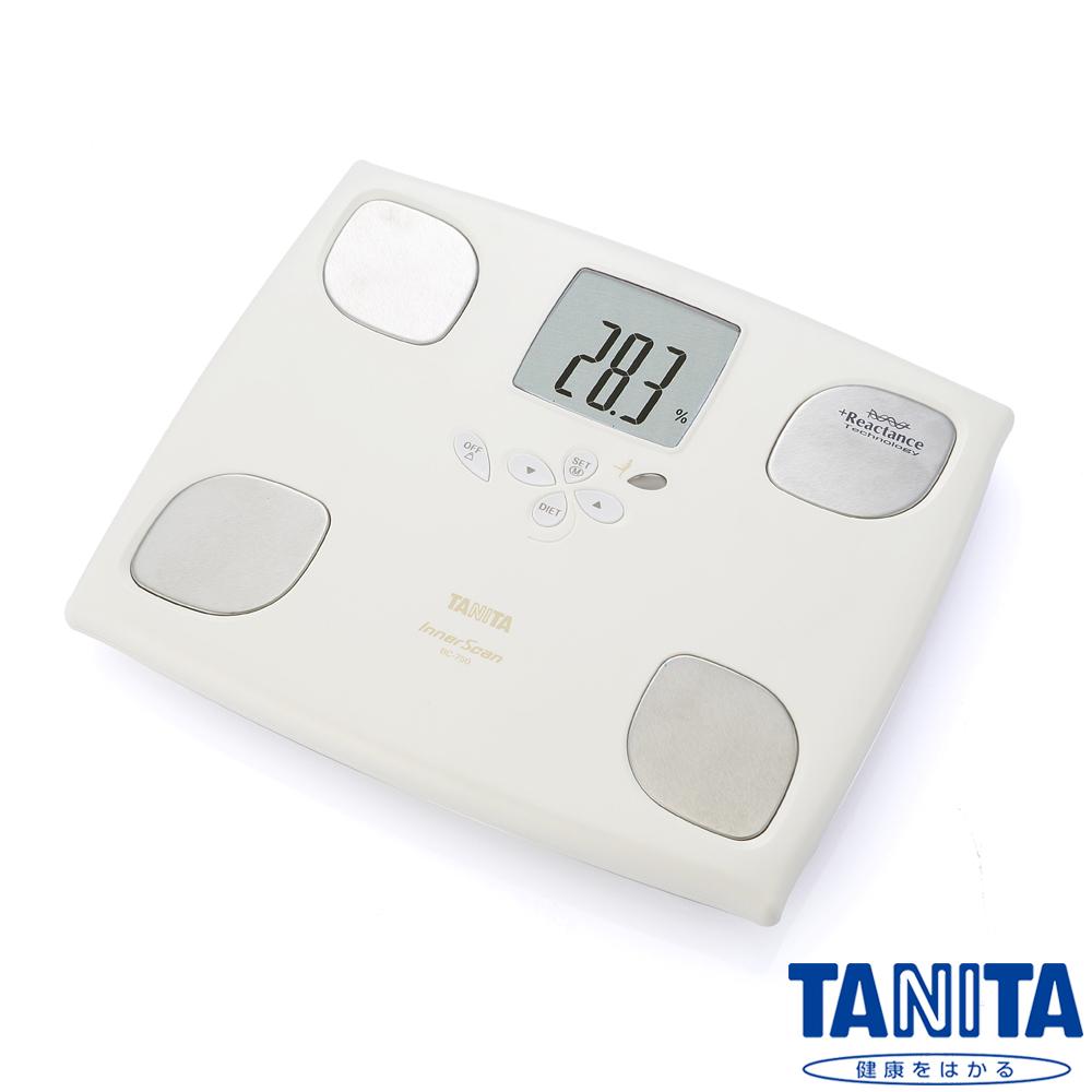 日本TANITA 十合一女性減重模式體組成計 BC750-珍珠白