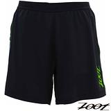 【ZOOT】2014 頂級冰涼感6吋二合一肌能跑褲 運動褲 (男-黑翠綠) Z1404020 路跑 馬拉松