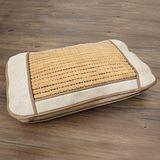 格藍傢飾-頂級碳化手工麻將竹記憶枕(琥珀色)