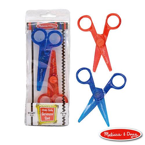 美國瑪莉莎 Melissa & Doug 兒童專用塑膠安全剪刀組合包