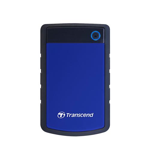 Transcend 創見 Storejet 25H3B 2TB USB3.1 2.5吋 軍規級抗震外接硬碟《藍》