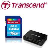 創見 16G Wi-Fi SD記憶卡+RDP5讀卡機