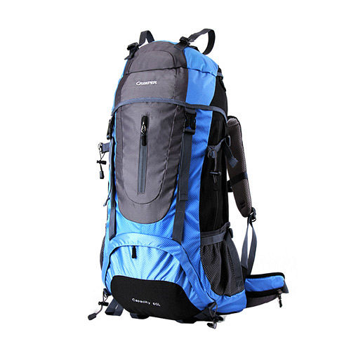 PUSH!登山戶外用品 60L專業型 登山背包 自助旅行背包 雙肩背包 贈防雨罩