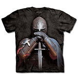 『摩達客』(預購)美國進口【The Mountain】自然純棉系列 盔甲騎士 T恤
