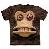 『摩達客』(預購)美國進口【The Mountain】自然純棉系列 玩具猴臉 T恤