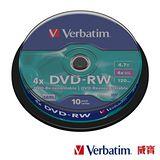 Verbatim 威寶 AZO 4X DVD-RW 4.7GB (10片)