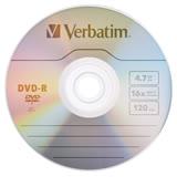 Verbatim 威寶 AZO 銀雀版 16X DVD-R 4.7GB 燒錄片 50片