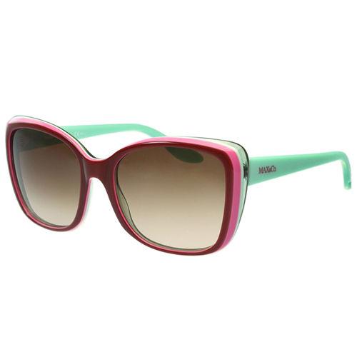 MAX&CO. 時尚太陽眼鏡(暗紅色)