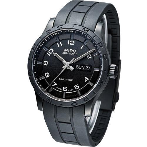 美度 MIDO Multifort 黑武士 機械錶 M018.430.37.052.00