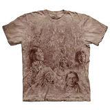 『摩達客』(預購)美國進口【The Mountain】自然純棉系列 先人之牆 T恤