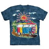 『摩達客』(預購)美國進口【The Mountain】自然純棉系列 蠟染觀光巴士 T恤