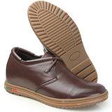 (201405新品)休閒系列01044牛筋底軟面6.0cm增高GOG高哥隱形增高鞋內增高鞋