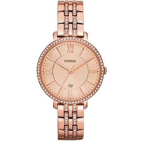 FOSSIL  羅馬晶鑽薄型腕錶