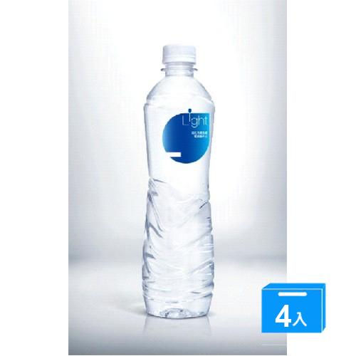 悅氏Light鹼性水550ml*4入